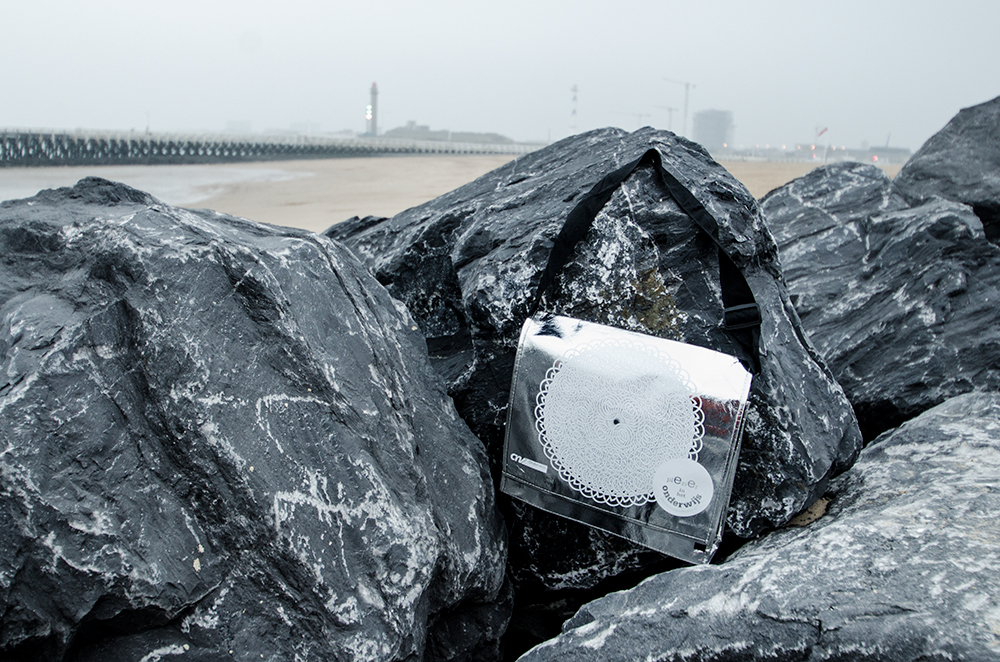 """c-bags bedrukte draagtassen voor """"Plezier in het onderwijs"""" // single cyclus ecologische draagtassen // PP non woven // betaalbare luxe draagtassen"""
