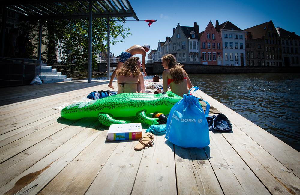 c-bags bedrukte draagtassen voor Bjorn Borg // single cyclus ecologische draagtassen // PP non woven stroptasje // scherpe prijs!