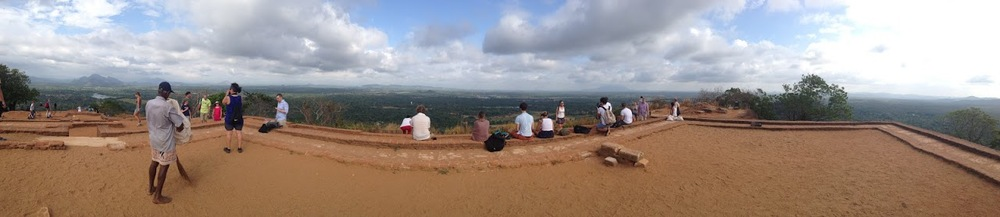 sigiriya lion rock view