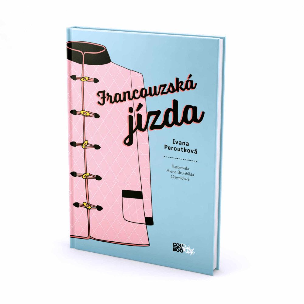 book kniha brunhilda francouzska jizda illustration ilustrace