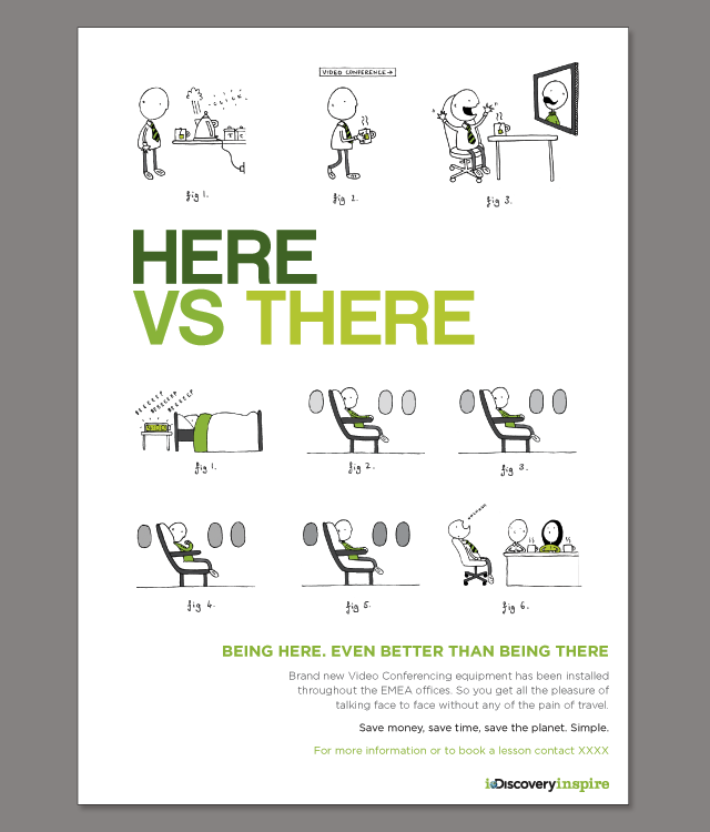 Here vs There by Fiona Roberton