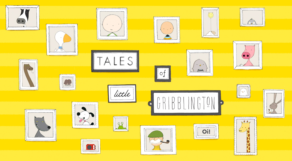 Tales of Little Gribblington by Fiona Roberton