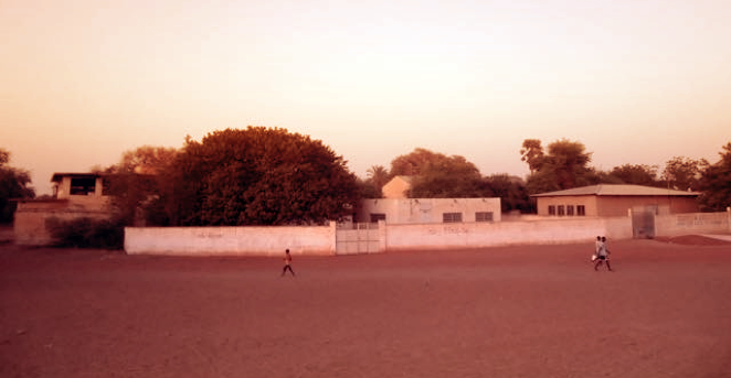 Figure 6 | Soccer Pitch on the streets of Guédé Chantier