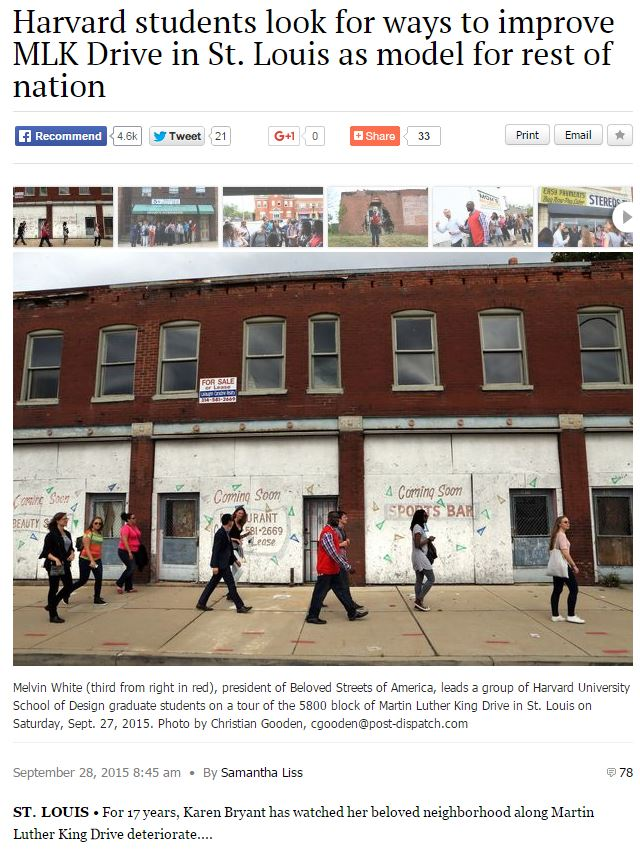 Figure 1: Article written by Samantha Liss from the St. Louis Dispactch. View the comment section. Photo Credit: Sceenshot of St. Louis Dispatch Article