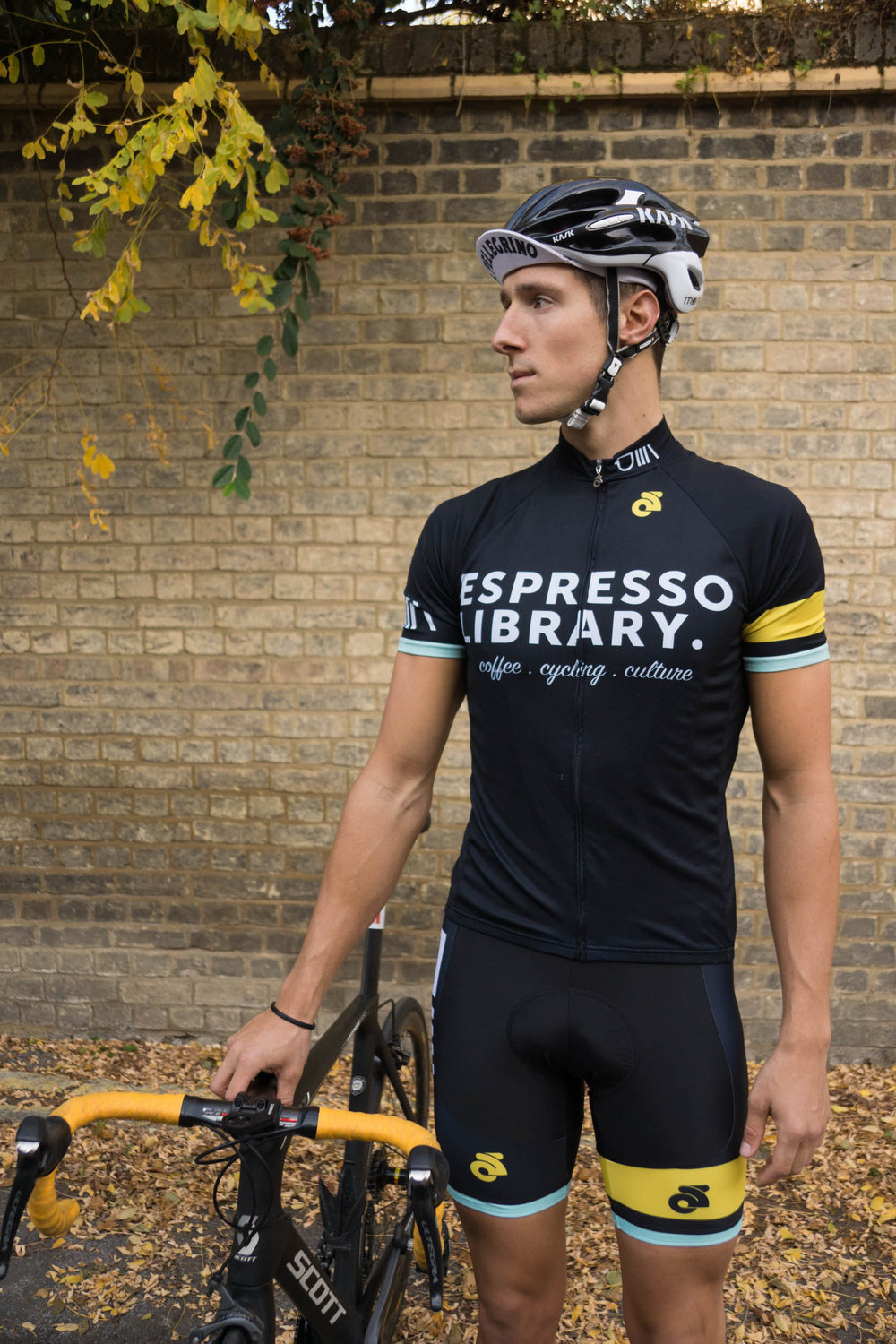DO YOU LIKE OUR KIT? - We've got bib shorts & cycling jerseys available for purchase at the cafe...
