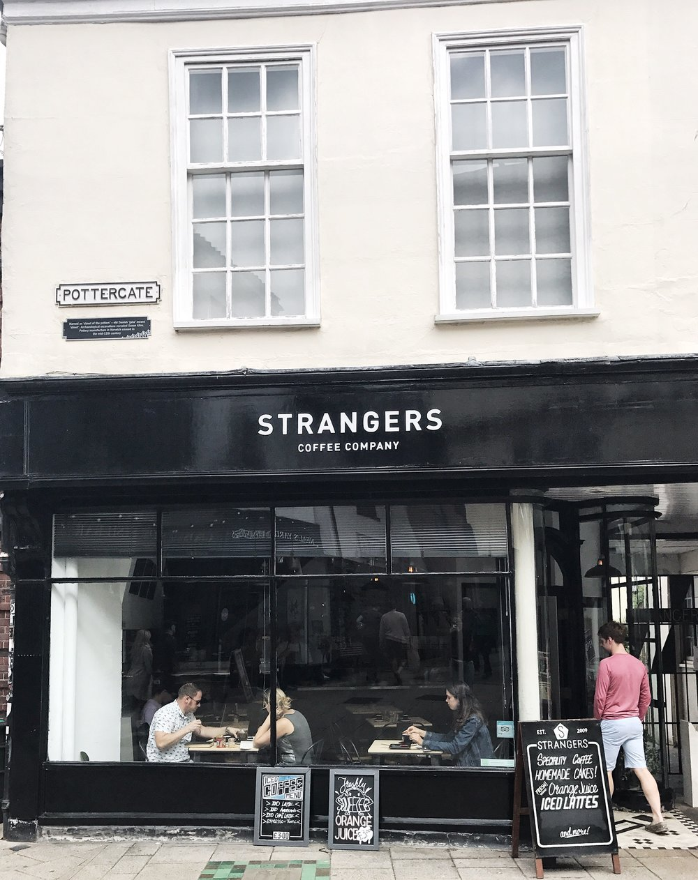 STRANGERS COFFEE COMPANY - A true passion for specialty coffee.