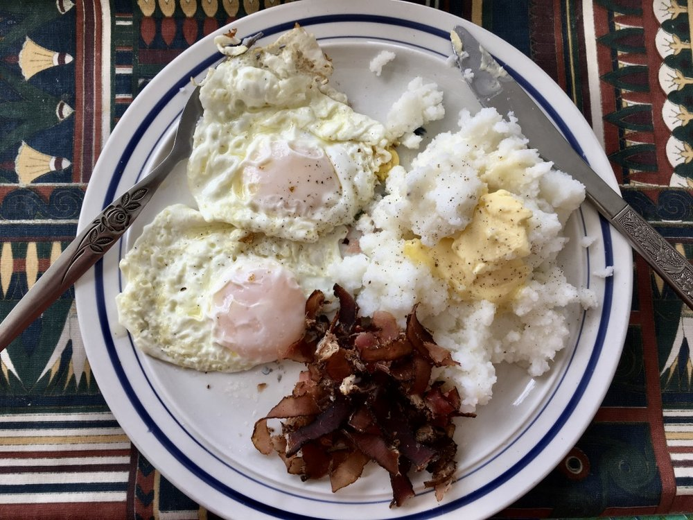Pap, Egg and Biltong