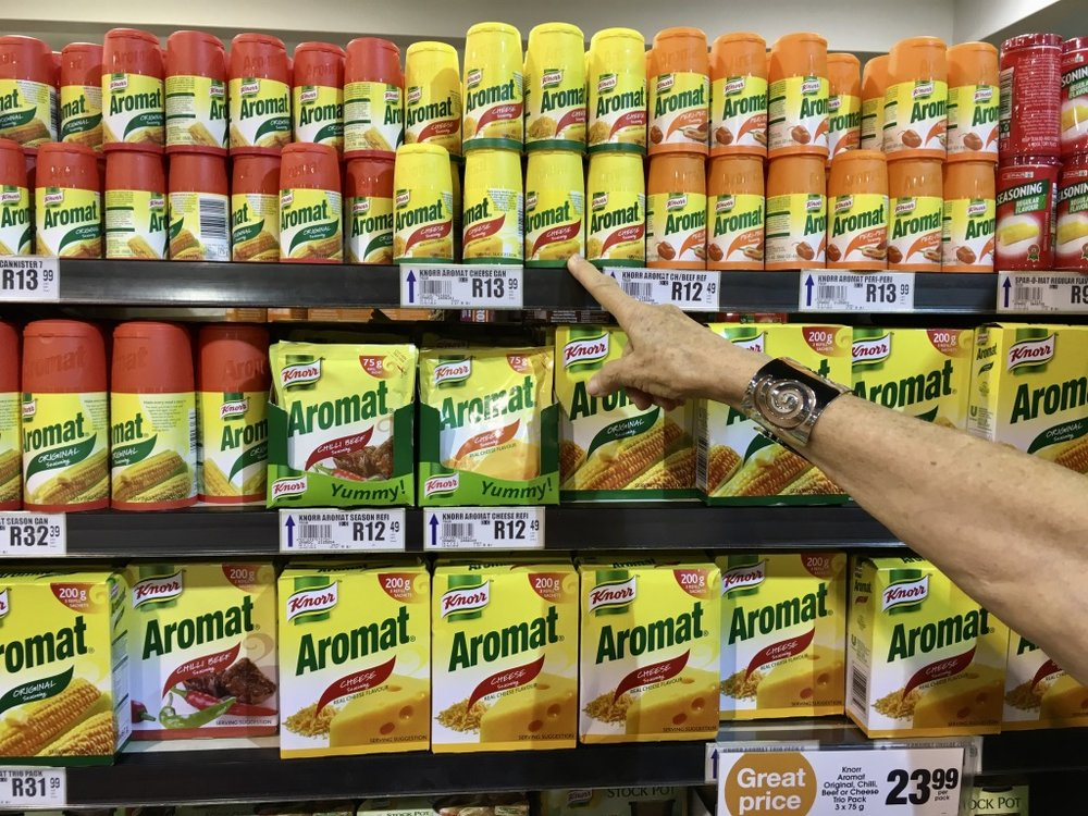 SO MANY choices of Aromat!