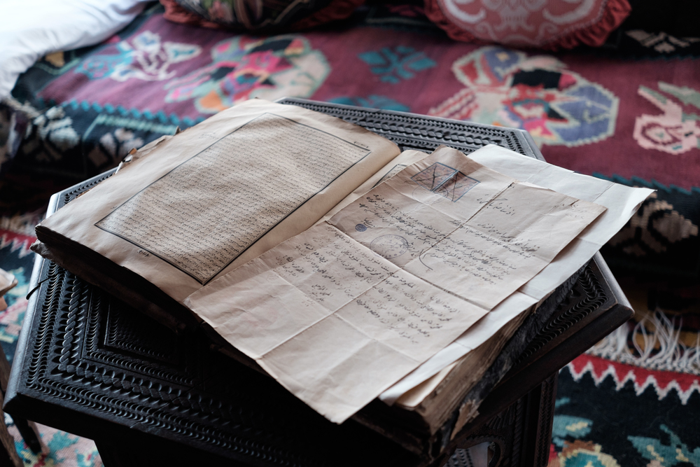 Old scripts from within the Kajtaz House