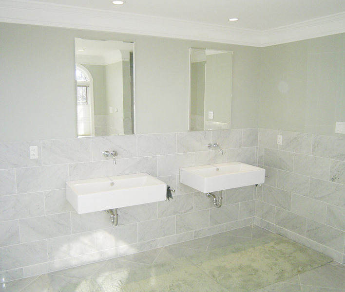 Floating Sinks Modern Hopewell Bathroom Renovation optimized.jpg