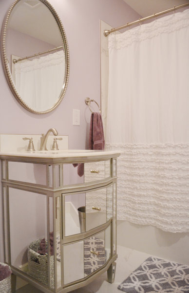 Hopewell NJ Girls Bathroom Renovation Mirrored Vanity optimized.jpg