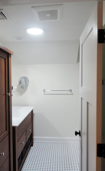 Pennington Bathroom Remodel Black White Tiles Wood Vanity optimized.jpg
