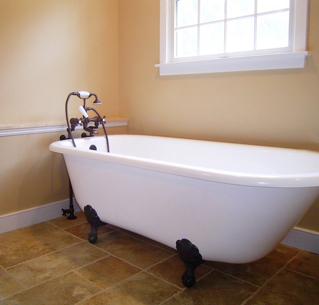 A&E Construction Clawfoot Tub Neutral Bathroom Renovation optimized.jpg