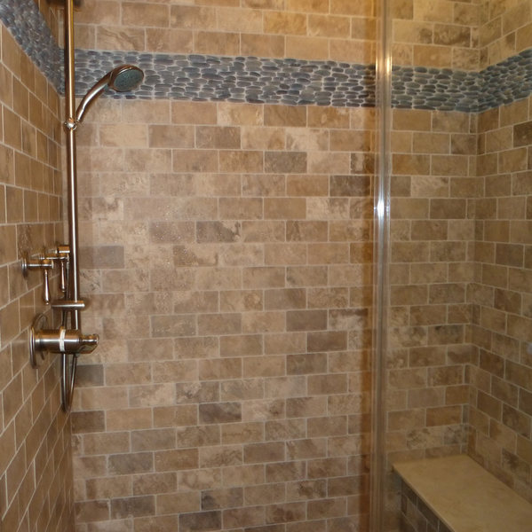 A&E Construction Neutral Tile Pebble Flooring Bathroom Remodel optimized.jpg