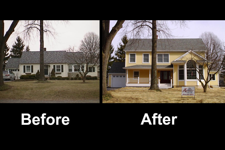 Pennington Home Addition Before After.jpg