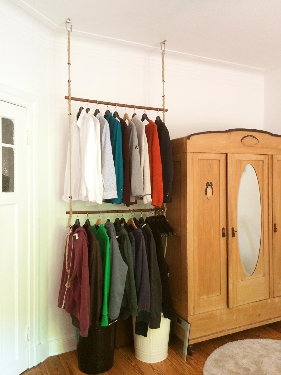 minimalistische maritime h ngegarderobe tutorial gesehen und gesehen werden. Black Bedroom Furniture Sets. Home Design Ideas