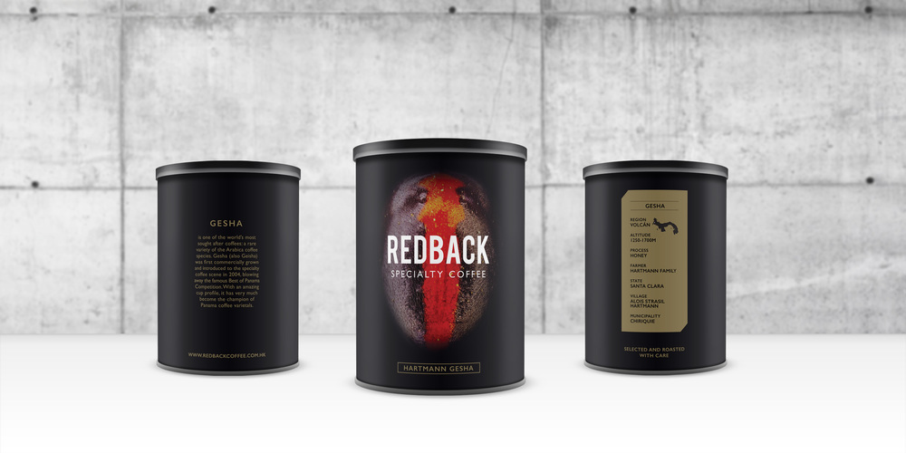 Packaging design - Tin for special blend