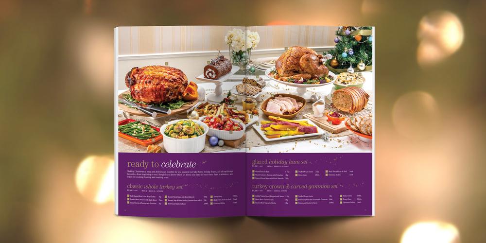 Great Food Hall Christmas Catalogue 2014