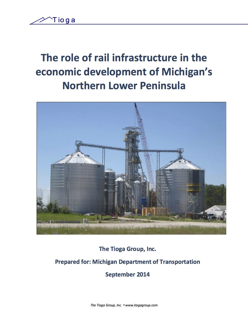 The role of rail infrastructure in the economic development of Michigan's Northern Lower Peninsula