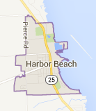 Harbor Beach Map