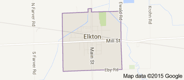 Elkton Map