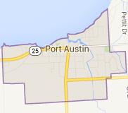 Port Austin Map