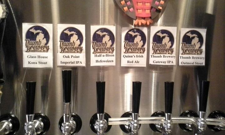Thumb Brewery of Caseville is carving its niche in the local craft beer industry.
