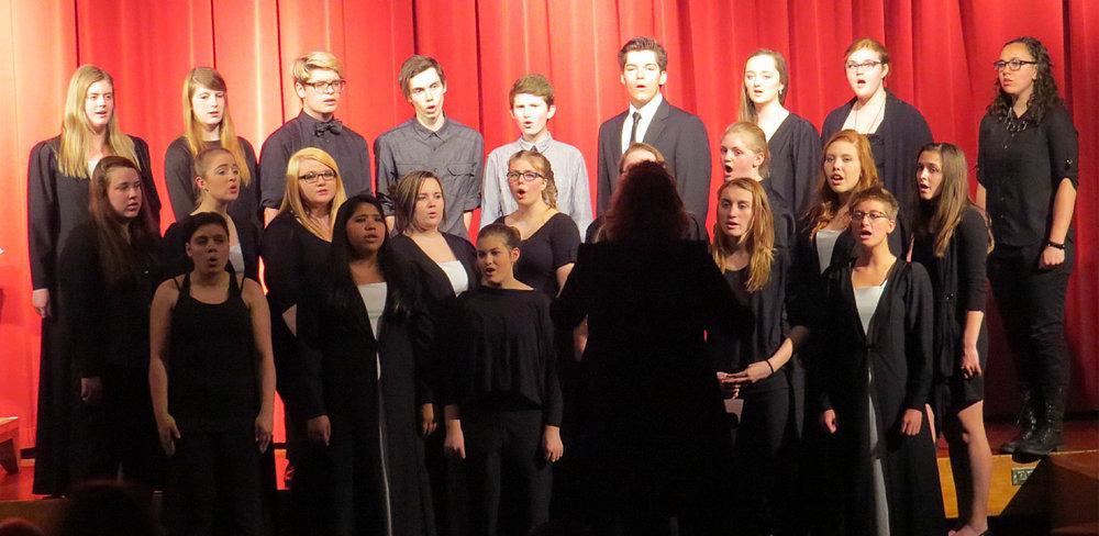 Fine Arts Choir at Laker High School
