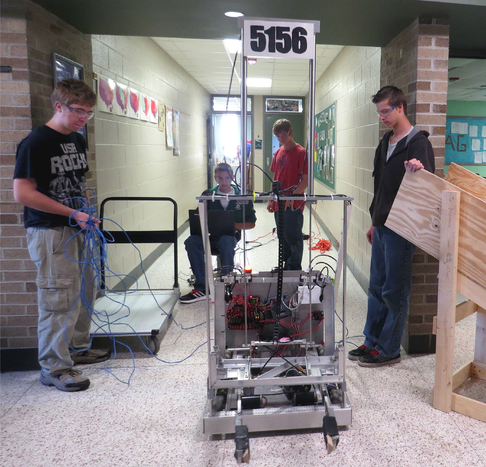 Robotics Team at Laker High School