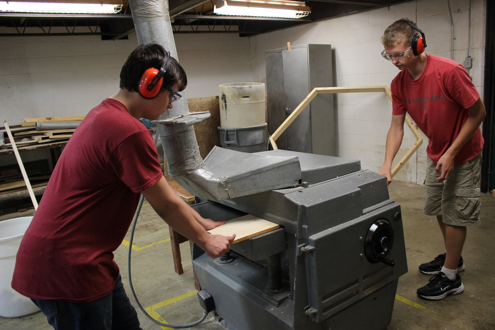 Wood Shop at Laker High School