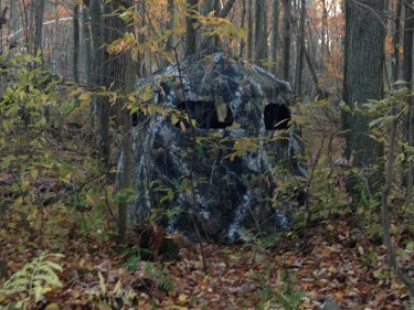 One Man Gun Blind - Lucky's Hunting Blinds