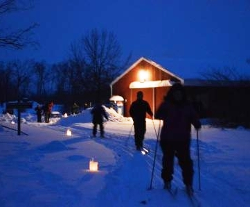 Candlelight Skiing at Sleeper State Park