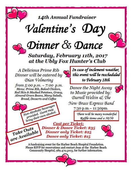 Valentines Dinner and Dance 2017 - Harbor Beach Hospital