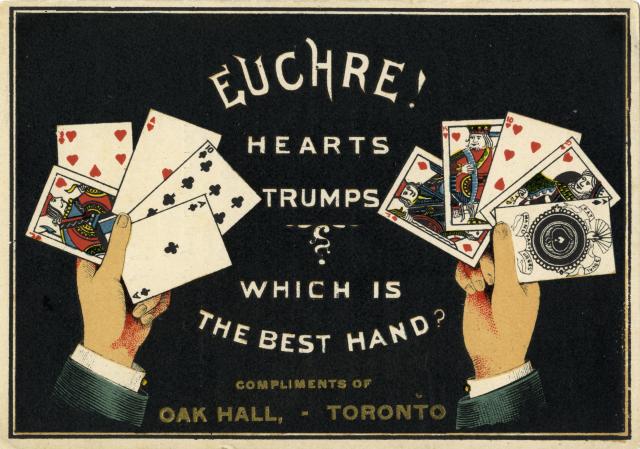 Euchre Oak Hall Toronto Public Library Canada