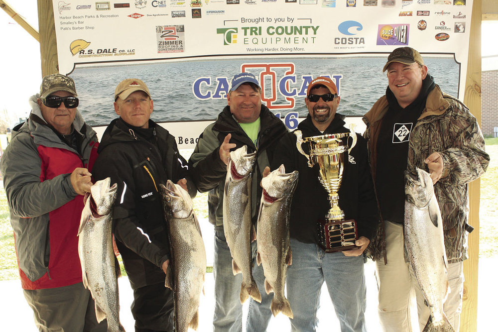 Harbor Beach Can2Can Fishing Tournament 2016 Winner