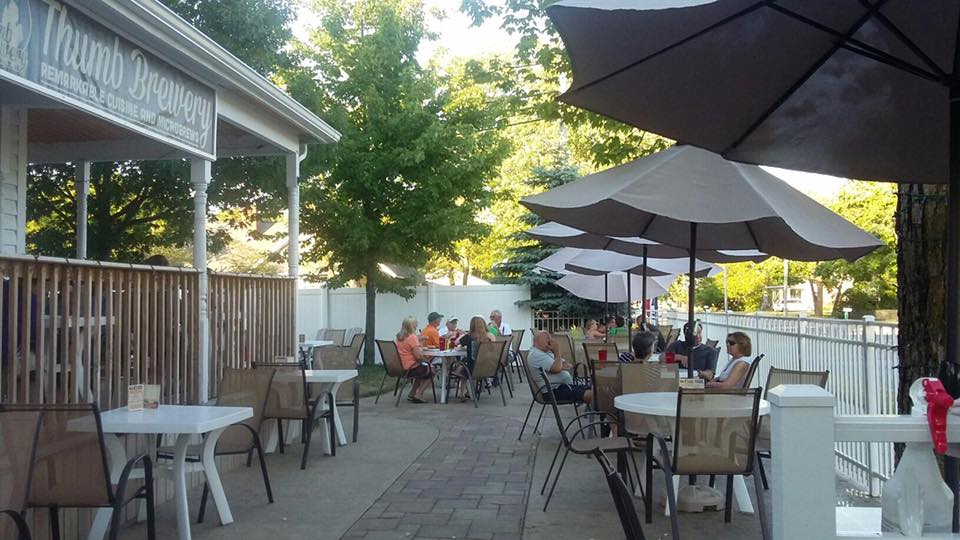 Thumb Brewery Patio