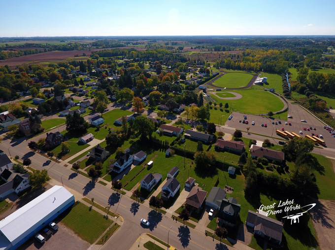 Photo courtesy of  Great Lakes Drone Works