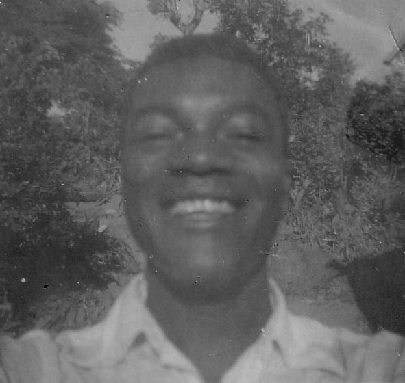 My Dad's first picture - a selfie in 1954.