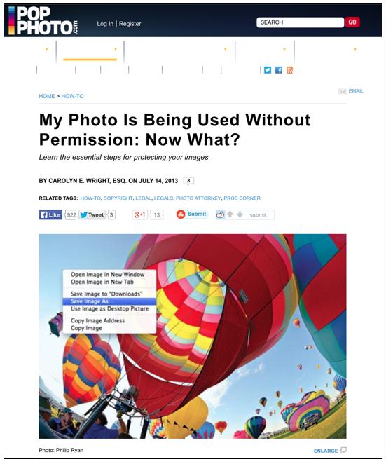 Read the Photo Attorney's post in PopPhoto