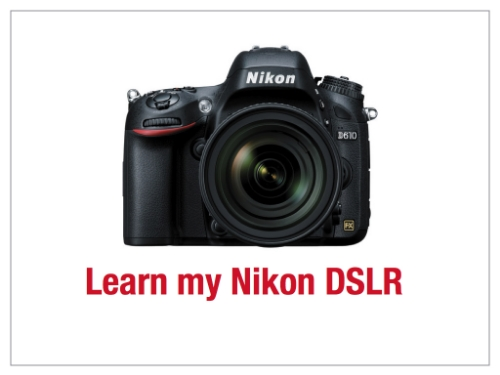 Click to read the Learn my Nikon DSLR slides.