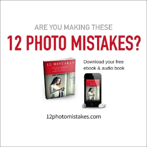 Are you committing any of these dirty dozen mistakes with your photography? Download this free ebook and audio book to find out.
