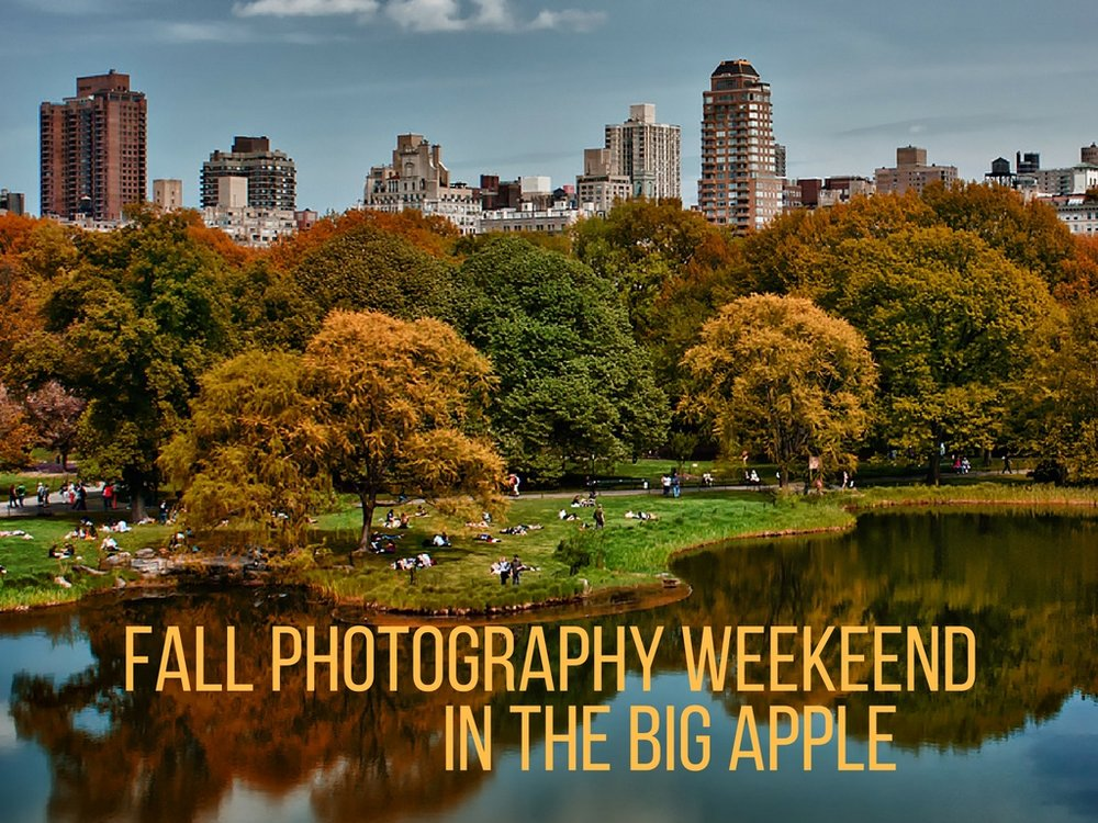 Join us to photograph fall colors plus a cornucopia of photo ops in NYC Oct. 27-30.