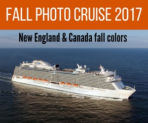 New England Photography Adventure Workshop & Cruise Sep 30, 2017 - Oct 7, 2017