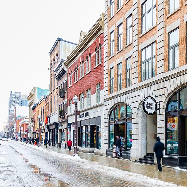 Février à Québec  #fevrier #quebec #quebeccity #lesloftsstjoseph #leslofts #lesloftsqc #ruestjoseph #quartierstroch #stroch #nouvostroch