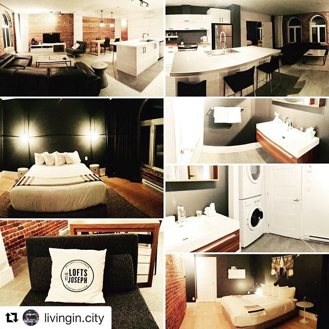 #Repost @livingin.city with @get_repost ・・・ | NEED A PLACE TO STAY IN QUEBEC CITY FOR A NIGHT OR TWO ? | We love to stay @lesloftsstjoseph | Prime location, parking, clean and awesome decor | Check out their website www.st-joseph.quebec |  #livinginwestmount #quebeccity #quebec #loft #shorttermstay #hotels #loftstyle #loftstyle #poutine #francais #patechinois #carnivaldequebec #québeccity #québecshot #quebechotel #livingindotcity