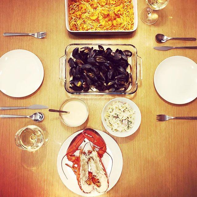 #Repost @pak__yiu with @get_repost ・・・ Home made dinner in the room tonight . . . #leslofts #lesloftsqc #lesloftsstjoseph #bonappetit