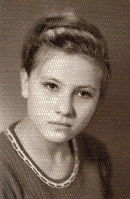 Clara (my mom) in her 20s