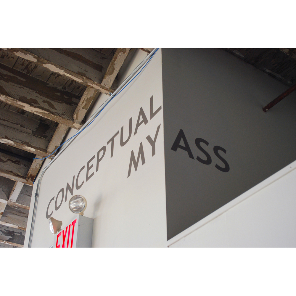 Conceptual My Ass