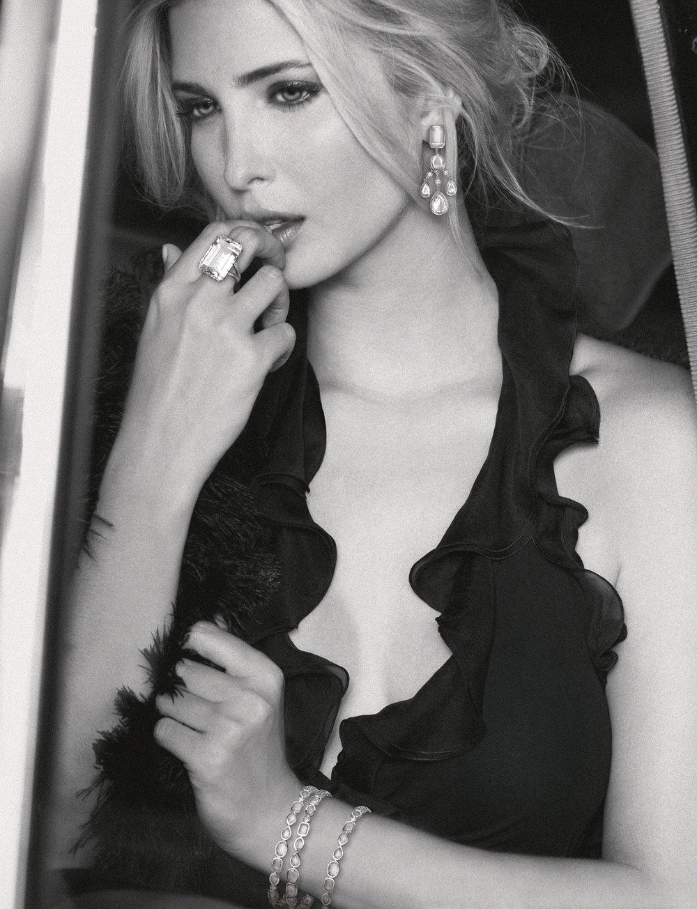 Ivanka Trump Fine Jewelry Fashion PrintAdvertisements by Benard Creative.