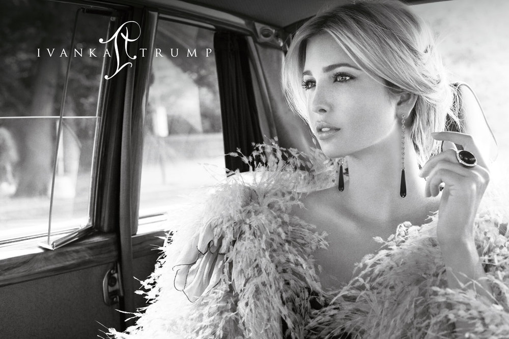 Ivanka Trump Fine Jewelry Fashion Print Advertisements by Benard Creative.